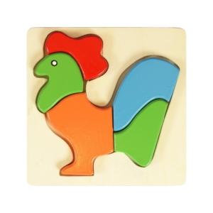 Fa puzzle - kakas