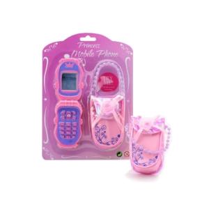 Játék mobiltelefon tokkal - rózsaszín - 27575 -