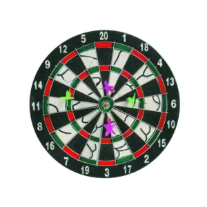 Darts tábla 4 darab dobónyíllal - 28 cm -DB-2012-