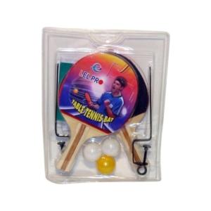 2db pingpong ütő, 3db labda+háló