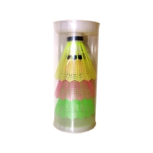Színes tollaslabda 3 darabos készlet -SK-07-