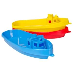 Műanyag kishajó - 38 cm