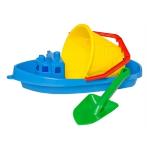 Homokozó szett kishajóval -2872-