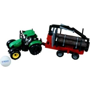 Rönk- és tejszállító traktor
