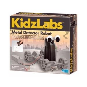 Fémkereső robot