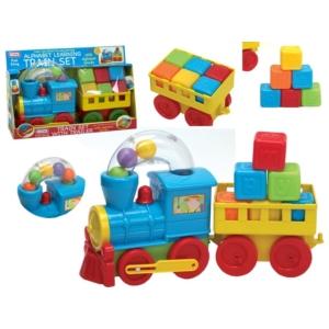 ABC műanyag vonat