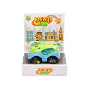 Bébi Készségfejlesztő autó - kék-zöld, 13 cm -1604I095-