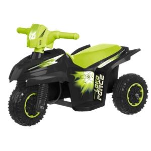 Elektromos 3 kerekű kismotor, fekete