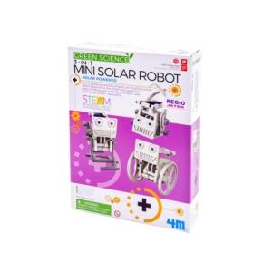 3 az 1-ben mini napelemes robot