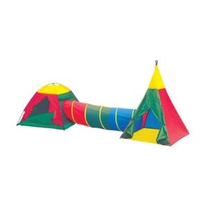 Jurta sátor + alagút + indián sátor