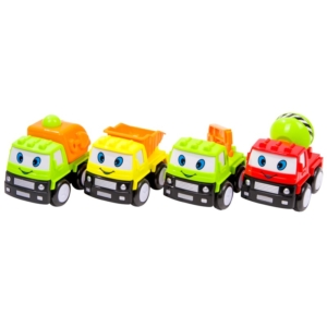 Lendkerekes mini teherautók 3 féle 2908