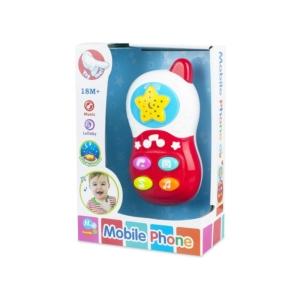 Zenélő mobiltelefon bébijáték - 5400-19 -