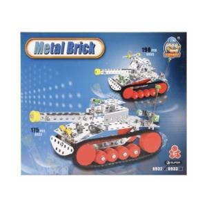 Tank 175 darabos fém építőjáték - 0908K239 -
