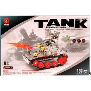 Tank 193 darabos fém építőjáték - 0610K359 -