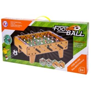Fa asztali foci készlet