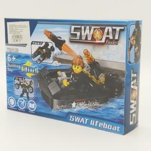 3in1 Építőjáték készlet - Swat Mentőcsónak