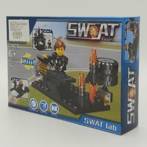 3in1 Építőjáték készlet - Swat Labor