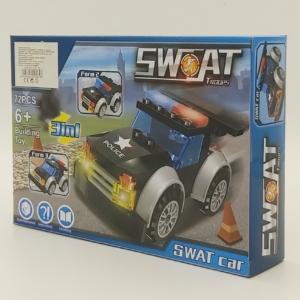 3in1 Építőjáték készlet - Swat Autó