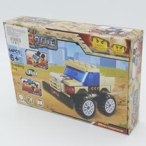 3in1 Építőjáték készlet - Transporter