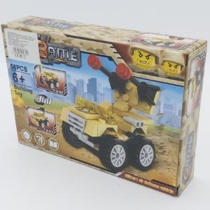 3in1 Építőjáték készlet - Légvédelmi jármű