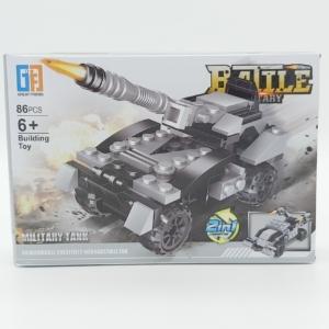 2in1 Építőjáték készlet - Tank