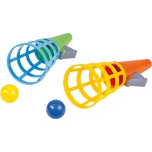Tölcséres labdakilövő 2 db, 12 cm
