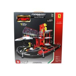 Bburago 1/43 Ferrari Racing garázs 18-30196