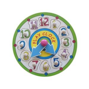 Fa óra puzzle 22,5x3 cm