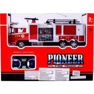 Távirányítós tűzoltóautó létrával - 32 cm