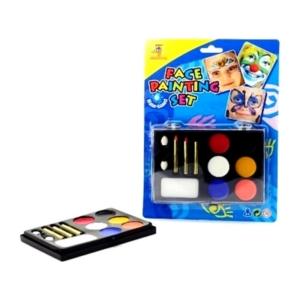 Arcfestő készlet 6 színnel