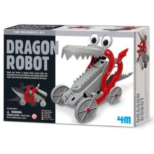 4M_RJ sárkány robot készlet