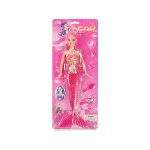 Elemes sellő baba - 32 cm