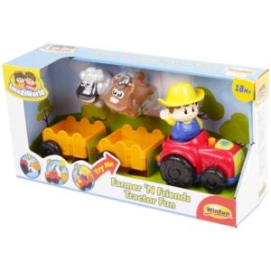 Bébi Farm traktor -001304-