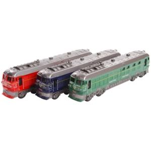 Lendkerekes mozdony, zenél, világít, 3 szín