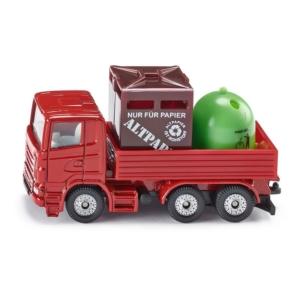SIKU Scania szelektív kukásautó 1:87