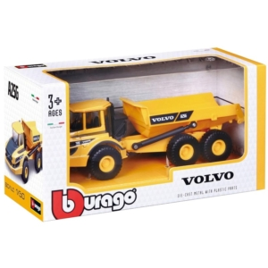 Bburago_RJ 1/50 munkagép- Volvo A25G teherautó