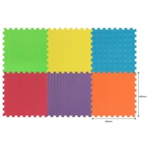 Habszivacs tornaszőnyeg 6 darabos óriás puzzle