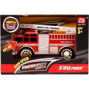Elemes tűzoltóautó