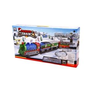 Vonat szett (Christmas) - 366 cm