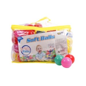 100 darabos Műanyag labda készlet
