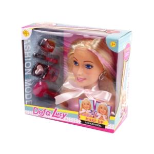 Defa Lucy sminkelhető babafej - 18 cm