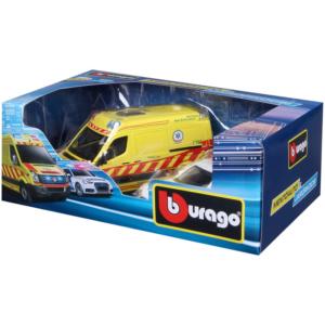 Bburago_RJ magyar VW mentőautó és Audi A6 rendőrautó