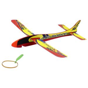 Gumival kilőhető polisztirol repülő