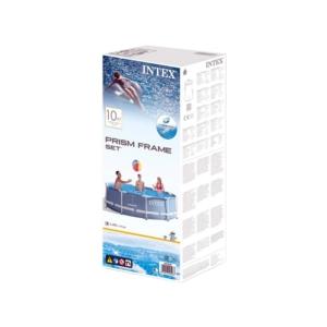 INTEX 28242 Csővázas medence szűrővel 457x122 cm