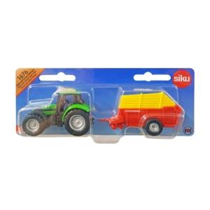 Traktor kiegyenlítővel