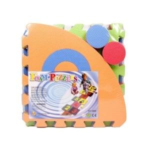 Ugróiskola habszivacs 10 darabos szőnyeg puzzle