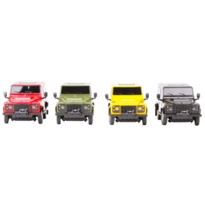 Land Rover távirányítós autó - 1:24, többféle