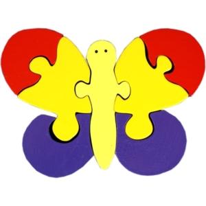 Fa puzzle - lepke