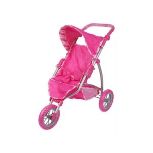 Háromkerekű babakocsi - rózsaszín