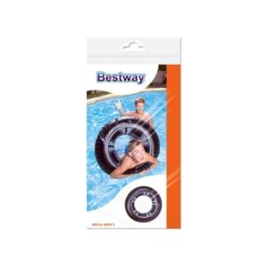 Bestway_RJ 36016 Autókerék mintás úszógumi - 91 cm